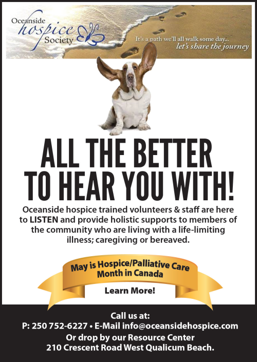 Oceanside Hospice Society - All the Better to Hear You