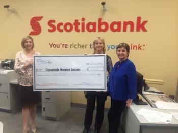 Scotiabank Cheque Presentation November 6 2014