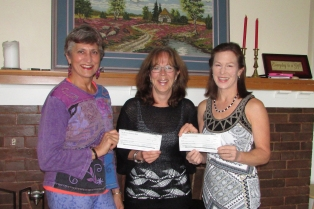 Yoga Cheque Presentation Cropped